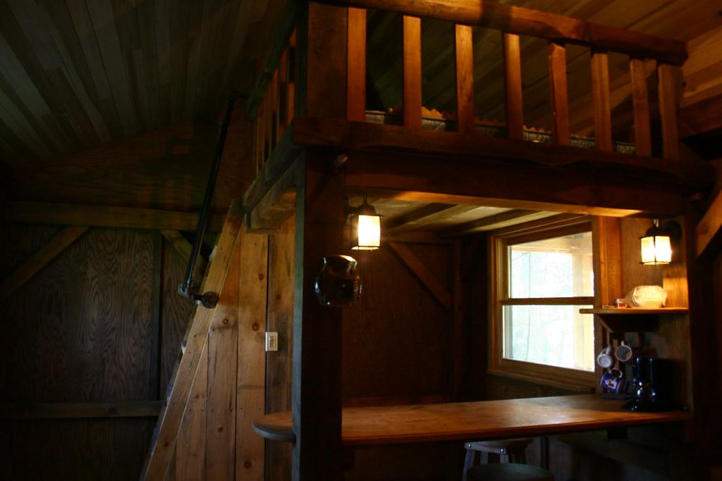 Interior cabin.