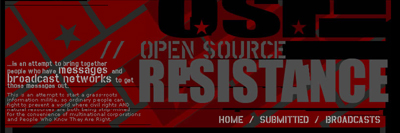 Open Source Resistance