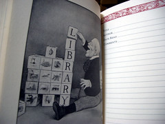 "a page from ""A Book Lover's Journal"""