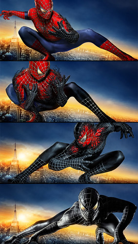 Spiderman 3 Transformación