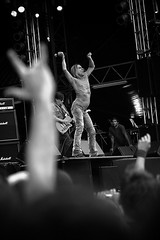Iggy Pop (lumi ) Tags: party portrait people blackandwhite bw musician music white black festival canon dance concert europe hungary artist telephoto moment capture lumi sziget iggypop creativephotographers