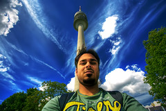 Me HDR :) - in munich olympia city (A.alFoudry) Tags: city me canon germany munich olympia 5d kuwait hdr globalvillage q8 abdullah 1740l       kuw  xnuzha alfoudry globalcity  abdullahalfoudry foudryphotocom invitedphotosonly gvadminshalloffame itsabeautifulgv kuwaitvoluntaryworkcenter