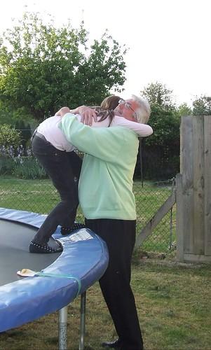 Hug for Poppa