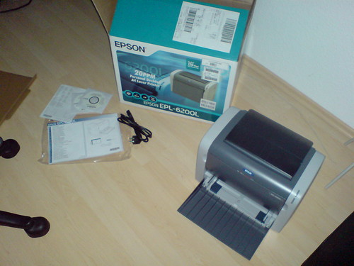 Epson EPL-6200L unwrapping 04