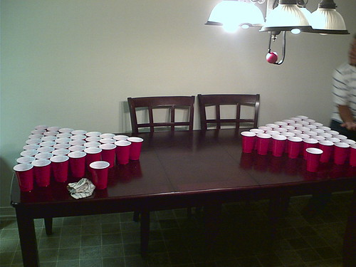 Beer Pong by HotDirt21, on Flickr