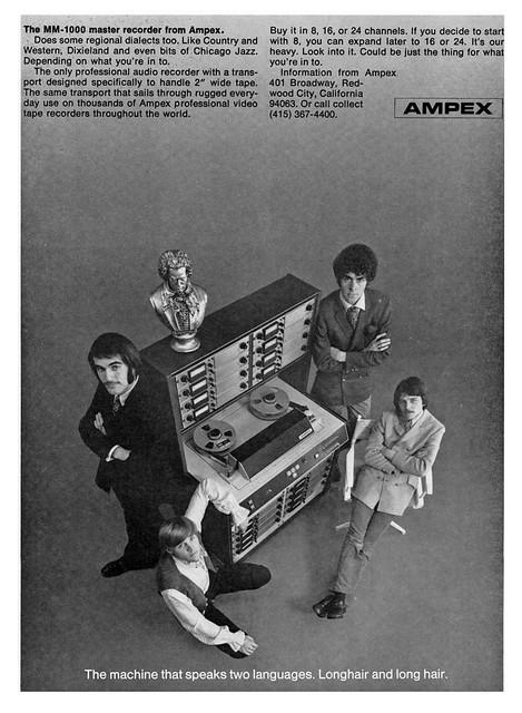 Ampex MM1000 1969