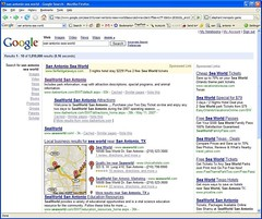Google trying new local search layout