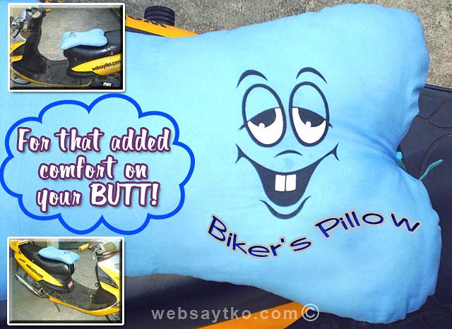 bikers pillow