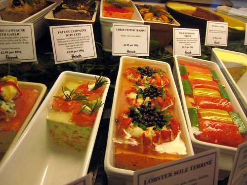 Terrines - at least 20 types!