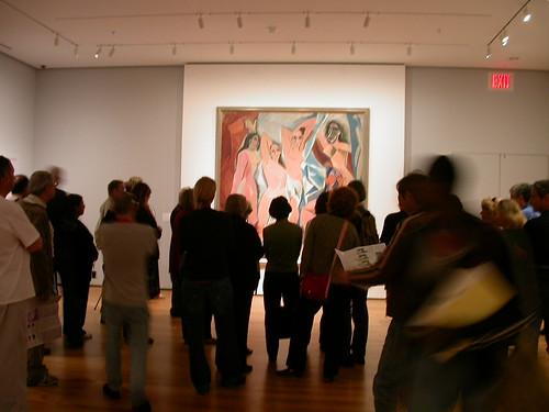 MoMA Demoiselles D'Avignon
