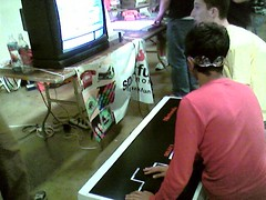 Giant Controller & Mario [Maker Faire]