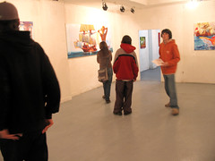 oppening of exhibition Beach culture in Bercsényi 003