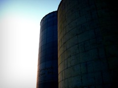 Currituck Grain Silos (Megan | When Harry Met Salad) Tags: rural photo grainsilo currituck curritucknc ruralnc northeasternnc