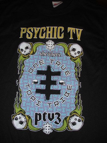 psychic tv t shirt