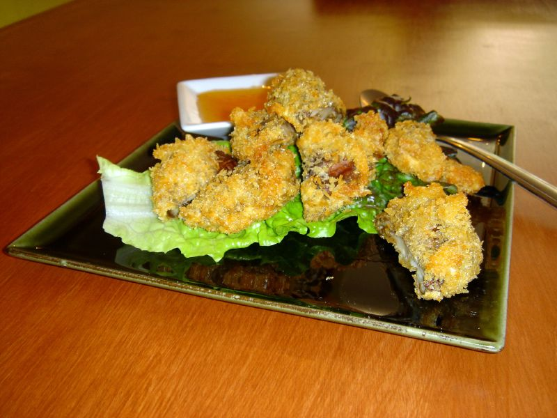Deep Fried Shitake