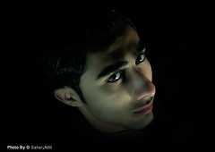 { ..    ..    (Nasser Bouhadoud) Tags: boy portrait man home look canon 350d friend mohammed pure nasser doha qatar  saher  allil
