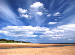 Clouds 1 (GetCarter2007) Tags: sky cloud beach clouds formation alnmouth