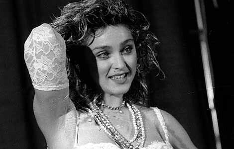 Madonna en los 80's