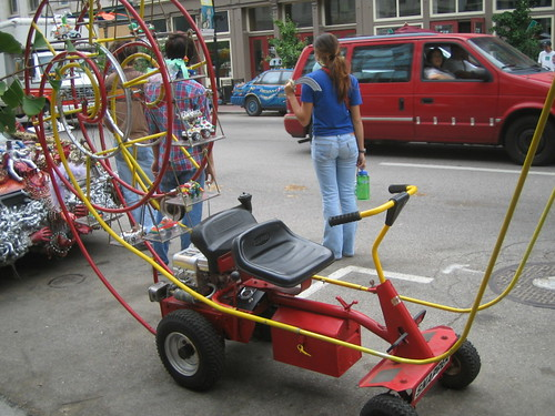Ferris Wheel Lawn Tractor