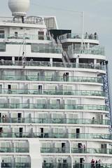 Popa (dreamtwister82) Tags: coruña galiza galicia españa spain puerto seaport stern transatlántico trasatlantico mv britannia nikon d5300