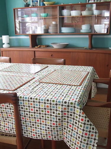 Orla tablecloth & placemats!! by HouseObsession.
