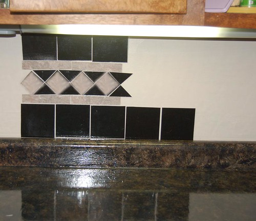cheap backsplash test run