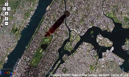 google-maps-alien-bug