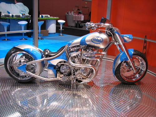 Intel's Custom Orange County Chopper