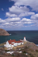 Fort Amherst (Mark Veitch) Tags: ocean sky lighthouse house snow beautiful tag3 taggedout clouds newfoundland boat rocks tag2 tag1 atlantic fortamherst lightkeeper anawesomeshot
