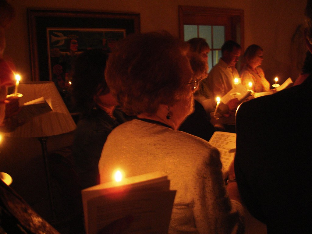The Easter Vigil at King of Peace