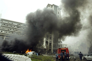 Explosions rocked the capital city of Algeria on Wednesday. At least 23 people have been reported killed. by Pan-African News Wire File Photos