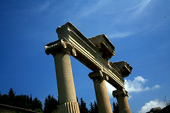 IMG_3503 (Sam's Exotic Travels) Tags: architecture turkey river ruins sam roman columns aegean culture engineering caesar sams relics ephesus travelphotos samsays kaystros templesofthegoddessrome samsexotictravelphotos exotictravelphotos samsayscom