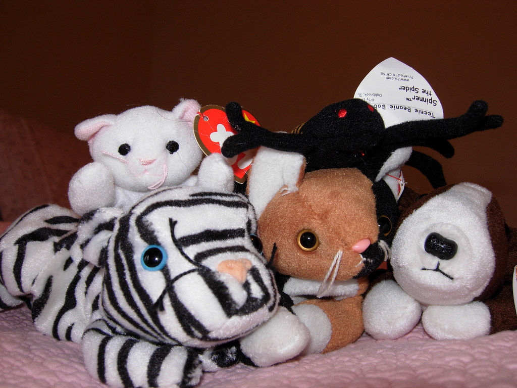 Flo's Beanie Baby Collection