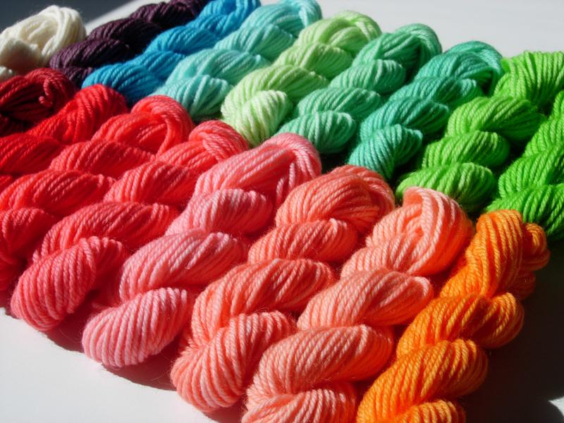 Kool-Aid Dyed Rainbow!