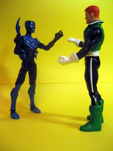 Blue Beetle and Guy Gardner