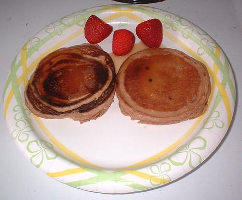 NutriSystem Blueberry Pancake Mix breakfast