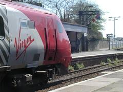 21st century train - 19th century signal (it_crowd) Tags: train cornwall railway liskard
