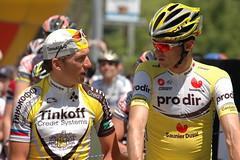 Tyler Hamilton & David Millar
