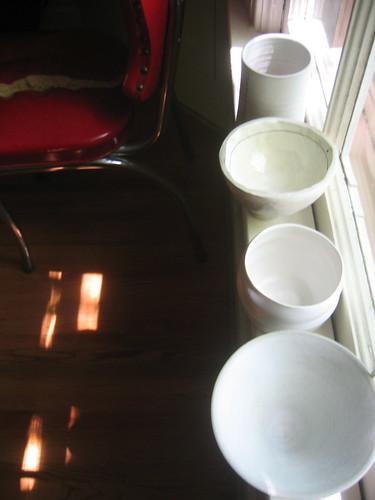 teacups inside