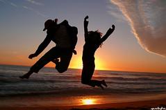 Deja vu (Gustavo Nudo (Guslight)) Tags: chile sol contraluz atardecer mar playa colores explore pacifico oceano dejavu reaca sunsent junp abigfave panasonicdmcfz50 guslight natitobis wiiiiiiii gustavonudo flickrsportal