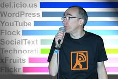 Luc Legay, conférence Web 2.0 à Vidéoformes 2007 [Photo by luc legay] (CC BY-SA 3.0)