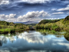 A Magical Day ( D L Ennis) Tags: mountains clouds reflections river virginia pretty day searchthebest hdr blueridge jamesriver abigfave anawesomeshot superbmasterpiece dlennis diamondclassphotographer amagicalday