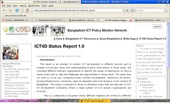 Bangladesh ICT policy monitor