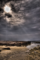 Shellharbour Seascape (alexkess) Tags: ocean sea cloud sun seascape clouds nikon rocks shoreline australia pools nsw d200 hdr wollongong lightroom illawarra shellharbour photomatix 5xp anawesomeshot