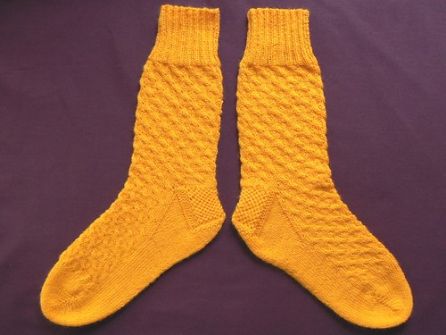 yellow uptown boot socks