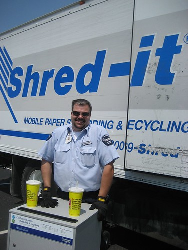 Shred-it Company at Shredding Day