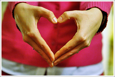 heart is in my hands by shimelle, on Flickr
