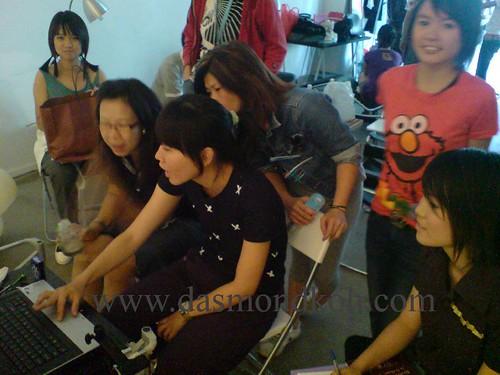 Campus Super 2 photoshoot session