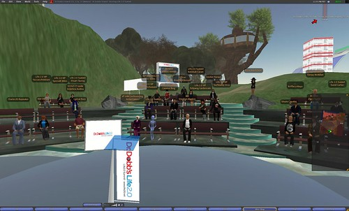 The Life 2.0 conference in Second Life