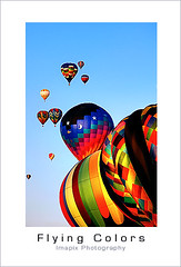 Flying (Imapix) Tags: travel sky colors flying photo bravo photographie searchthebest quebec couleurs balloon vol hotairballoons imapix montgolfire stjeansurrichelieu supershot goldenphotographer archives2005 imapixphotography gatanbourquephotography